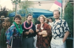 Lynne Flaherty and Peter Rothschild, Cindy Darby Stauffer, John Benford