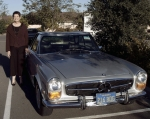 #ZZ-3 'Some Things Never Grow Old' like good teachers and good cars. Cathy Grace (Hayes) and her 1971 Mercedes 280 SL
